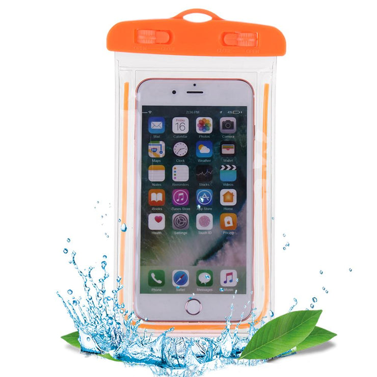 Swimming Bags Waterproof Bag With Luminous Underwater Pouch Phone Case For iphone 6 6s 7 Universal All Models 3.5-6 inch - Phone Case Offers