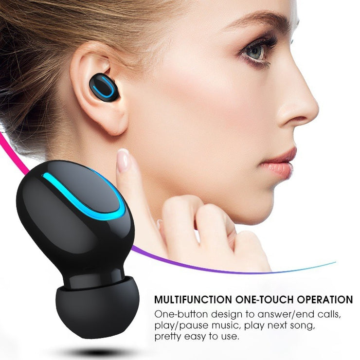 Bluetooth 5.0 Earphones TWS Wireless Headphones Blutooth Earphone Handsfree Headphone - Phone Case Offers