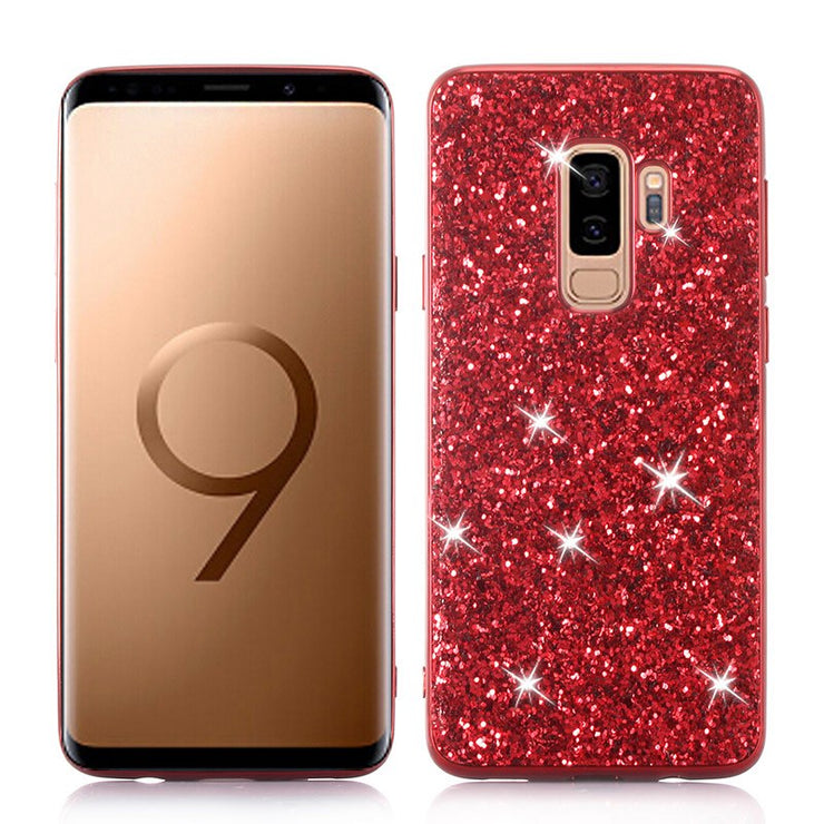 Phone Case for Samsung Galaxy S9 Plus Case Silicon Bling Glitter Crystal Sequins Soft TPU Cover Fundas for Samsung S9 Plus S9 - Phone Case Offers