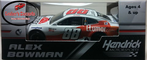 Alex Bowman 2018 #88 LLUMAR Window Film Camaro ZL1 Camaro 1:64 ARC - - Lesher's Diecasts ®