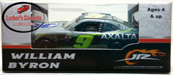 William Byron 2017 #9 Axalta Xfinity Series Daytona Raced Win 1:64 ARC - - Lesher's Diecasts ®