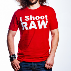 Original I SHOOT RAW Tee