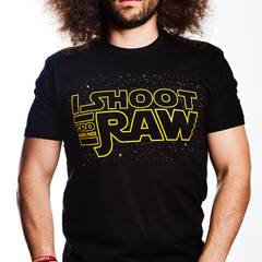 I SHOOT RAW Space Tee