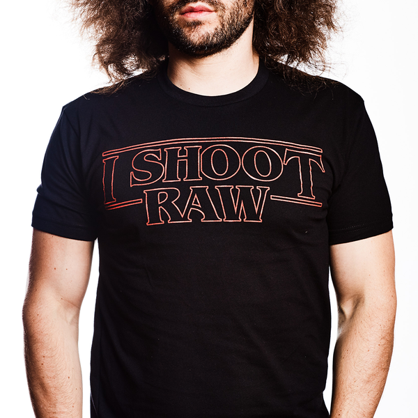 "I SHOOT RAW ""Stranger Things"" Limited Edition Tee"