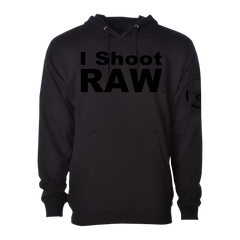 I SHOOT RAW Stealth Pullover