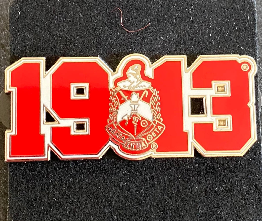Crest & Year Pin