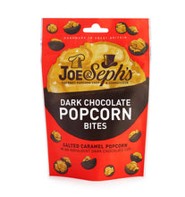 Load image into Gallery viewer, Dark Chocolate Popcorn Bites Pouch (63g)