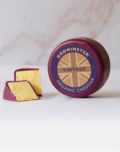 Godminster 400g Vintage Organic Cheddar in a Gift Box