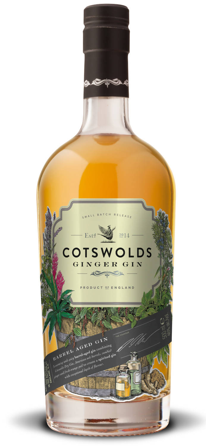 Cotswolds Ginger Gin (50cl)