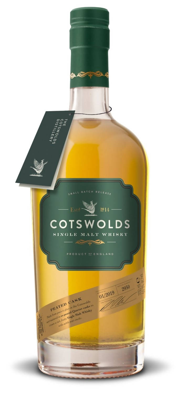 Cotswolds Peated Cask Whisky (70cl)