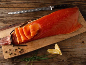 James Alexander Rope Hung Smoked Salmon (1kg)