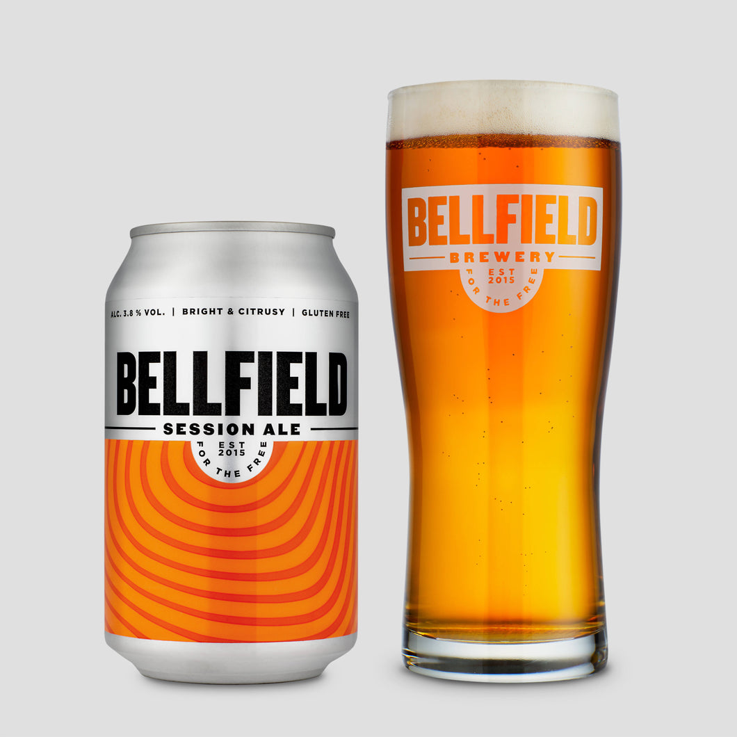 Bellfield Brewery Session Ale (12 x 330ml cans)