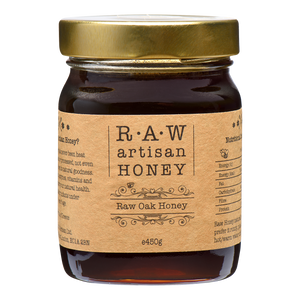 Raw Oak Honey 450g
