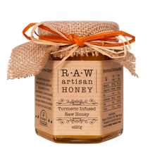 Load image into Gallery viewer, Turmeric honey, raw artisan honey