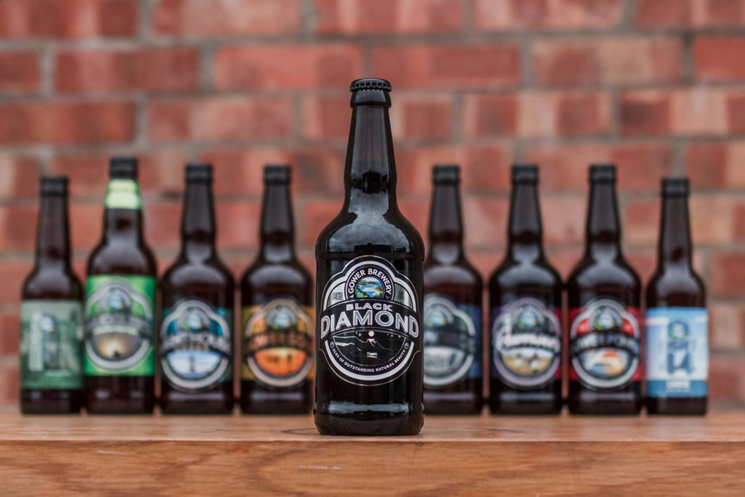 Gower Brewery Black Diamond (8 x 500ml)