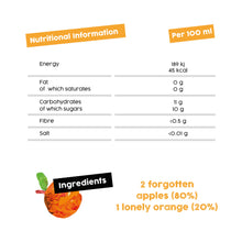 Load image into Gallery viewer, Flawsome! Apple & Orange - Cold Pressed Juice (12x250ml)