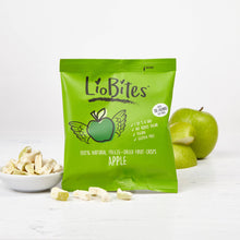 Load image into Gallery viewer, LioBites Freeze-Dried Apple Crisps x 15