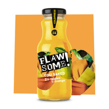 Load image into Gallery viewer, Flawsome! Apple & Mango - Cold Pressed Juice (12x250ml)