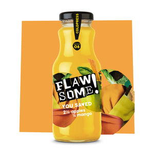 Flawsome! Apple & Mango - Cold Pressed Juice (12x250ml)