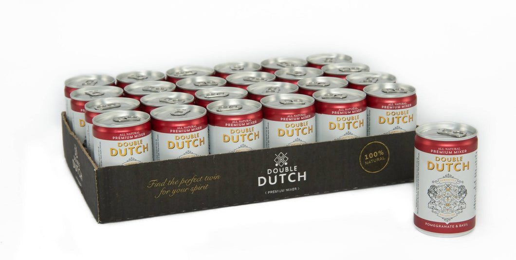 Double Dutch Cans Case (24 x 150ml)