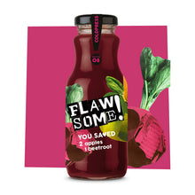 Load image into Gallery viewer, Flawsome! Apple & Beetroot - Cold Pressed Juice (12x250ml)
