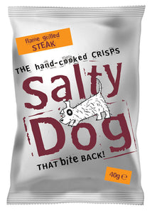 Salty Dog Hand Cooked Crisps (30 x 40g)