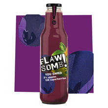 Load image into Gallery viewer, Flawsome! Apple & Superberry - Cold Pressed Juice (6x750ml)