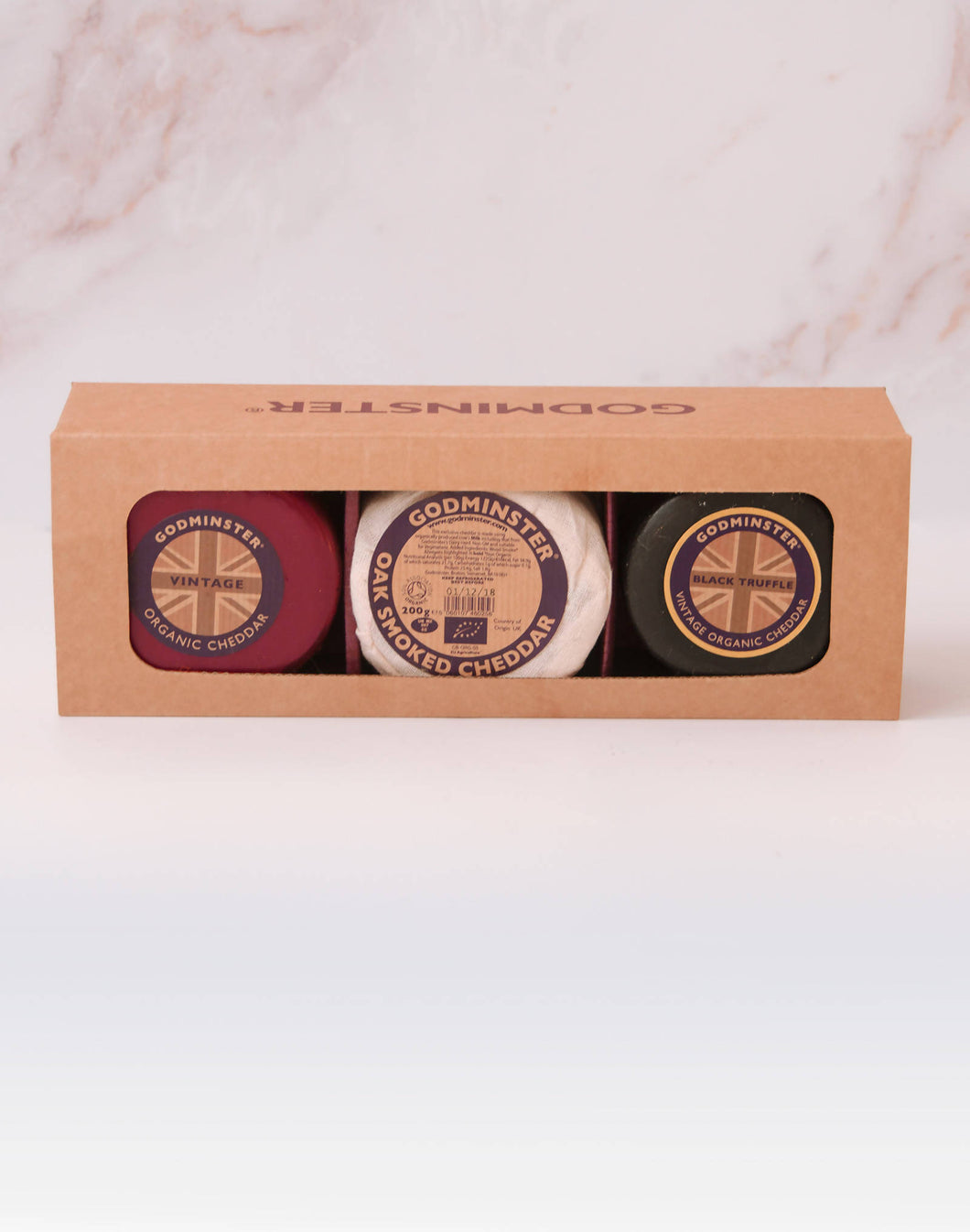 Godminster Triple Cheddar Collection Gift Set