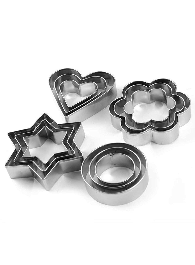 0166 Cookie Cutter 12 Pcs