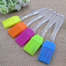 0413 Multicolor Silicone Silicon Brush For Home, Size: 17 Cm, For Home And Kitchen