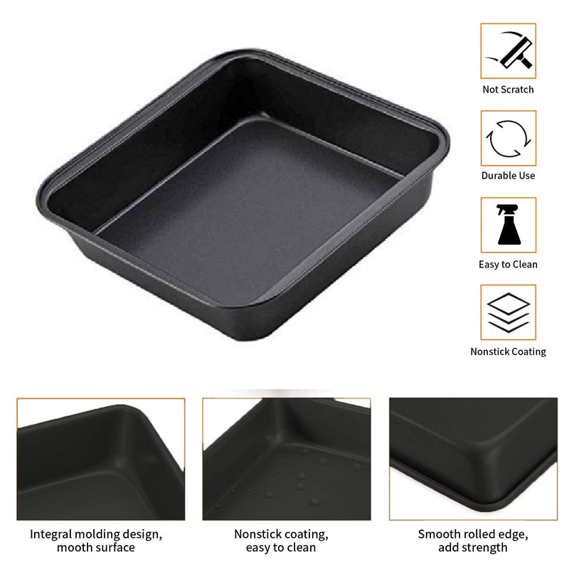 0436 Square Cake Mould 22.5cm