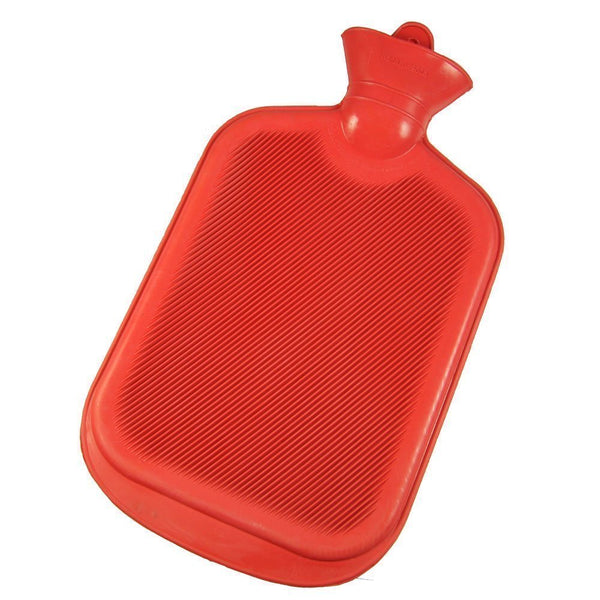 0297 Hot Water Bag/Bottle plain Rubber Heating Pad Non-Electrical For Pain Relief Massage ( 2 L capacity, Multi color)