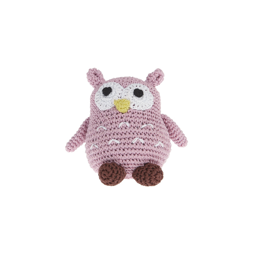 Little Owl Dog Toy