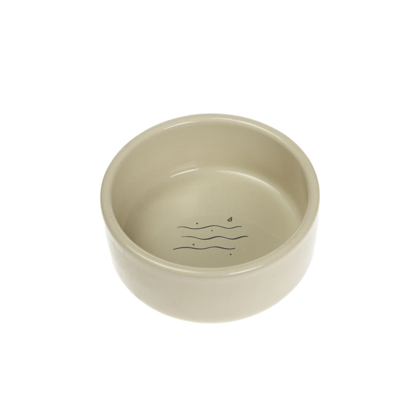 Woodland 'Water' Cat Bowl Cream
