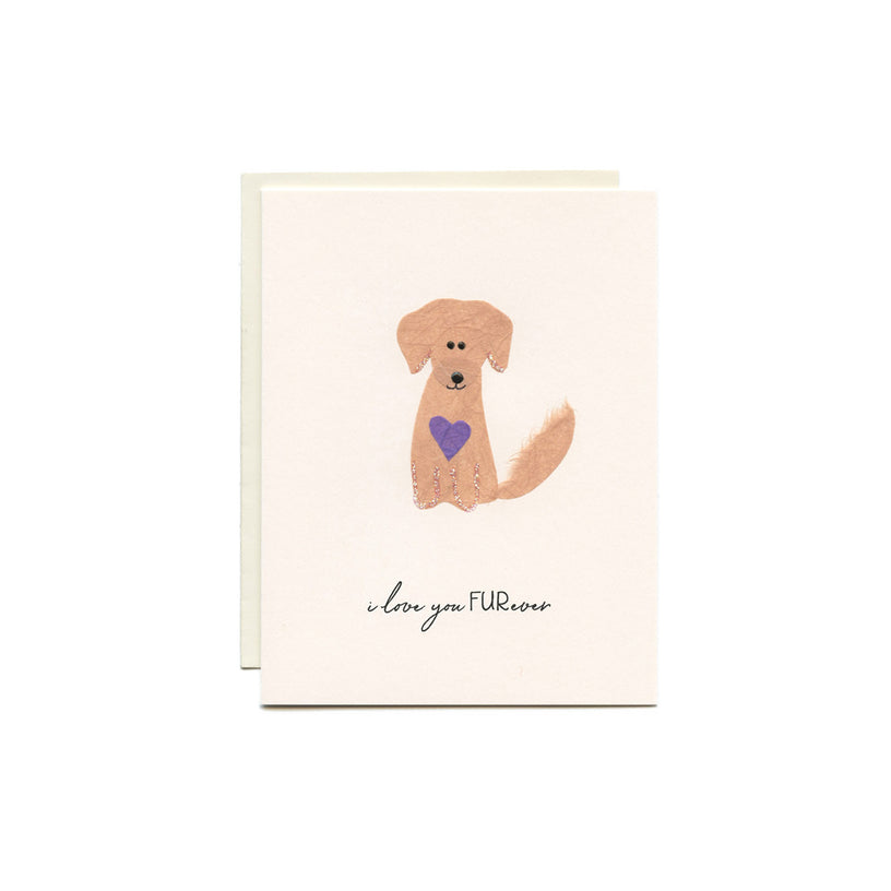 I love you FURever Card