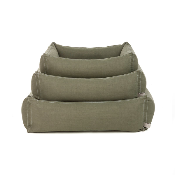Classic Dog Bed in Olive Green
