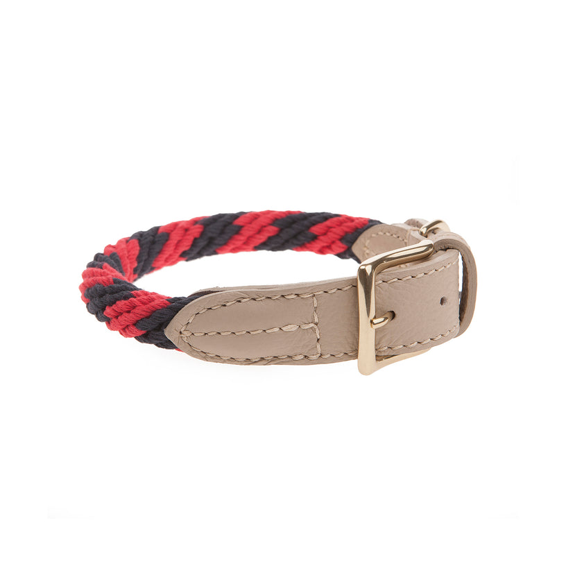 Rock Candy Rope Dog Collar