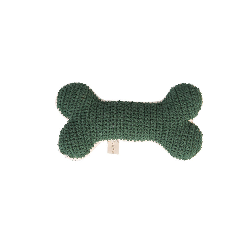 Crochet Bone Dog Toy