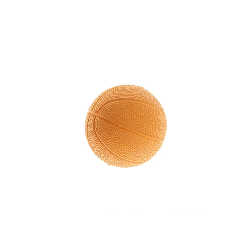 Rubber Basketball Dog Toy