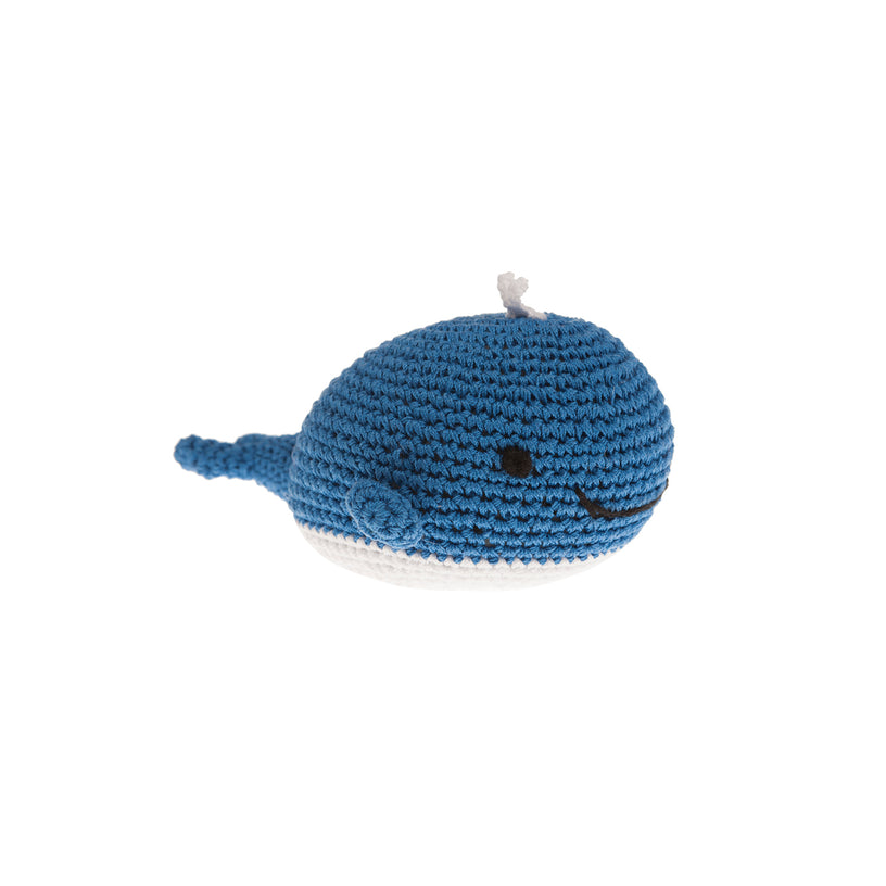 Whale Ball Dog Toy