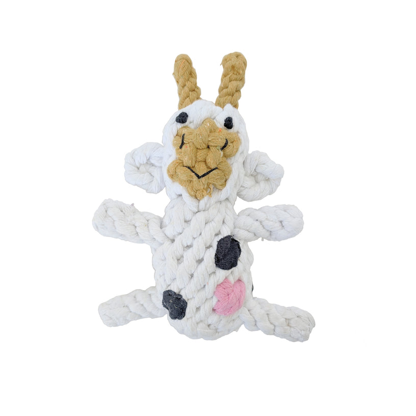 Cow Rope Dog Toy