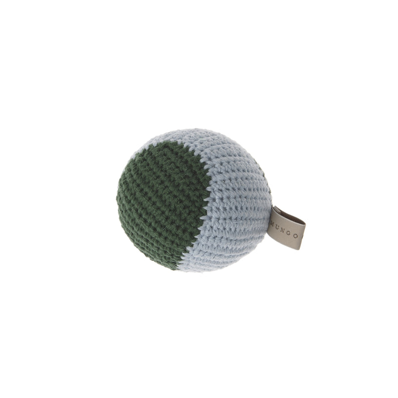 Crochet Baseball Dog Toy
