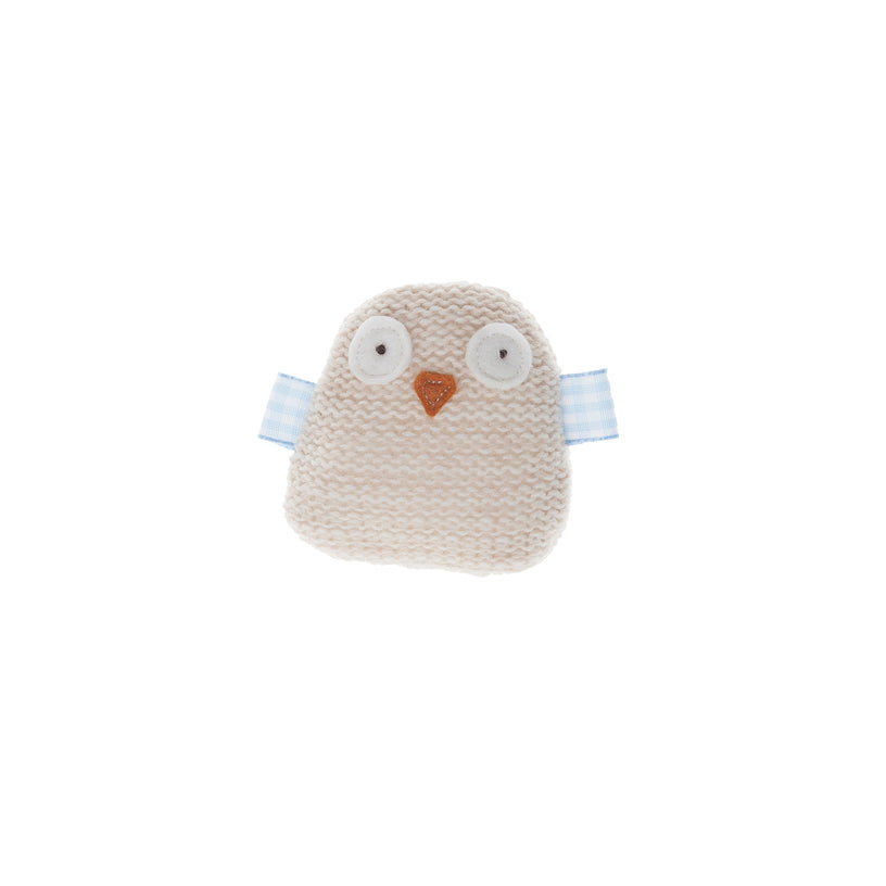 Knitted Owl Cat Toy