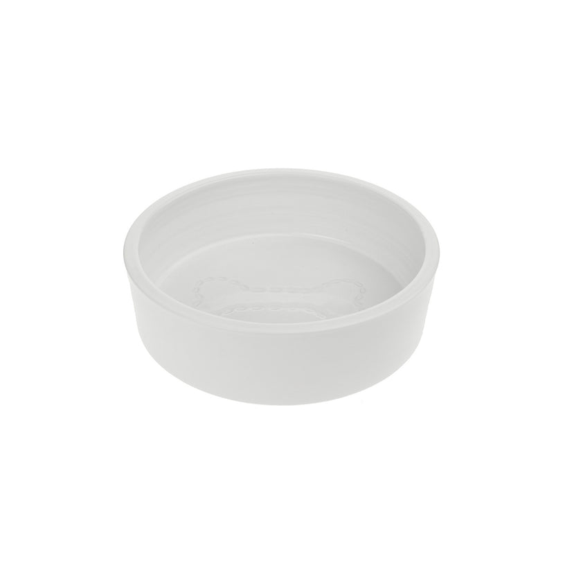 Stitch Bone Dog Bowl
