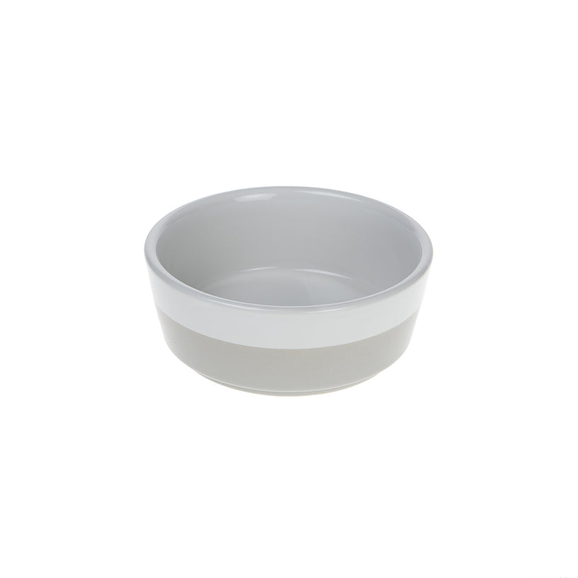 Two-Tone Dog Bowl