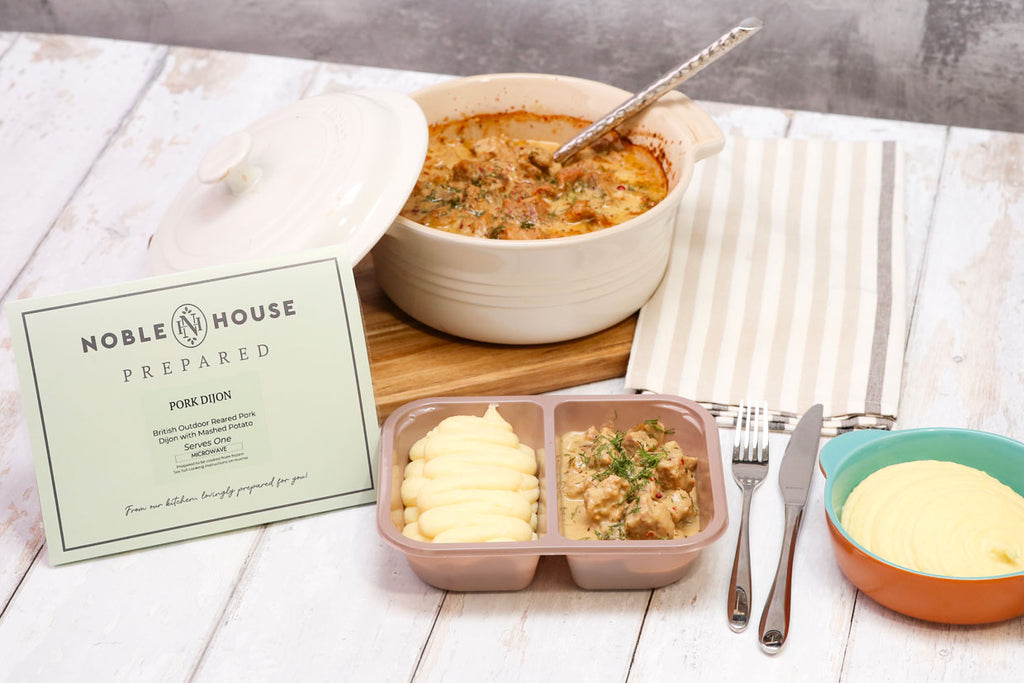 Noble House Prepared Corporate Dining for offices and workplace catering vending micromarket frozen food