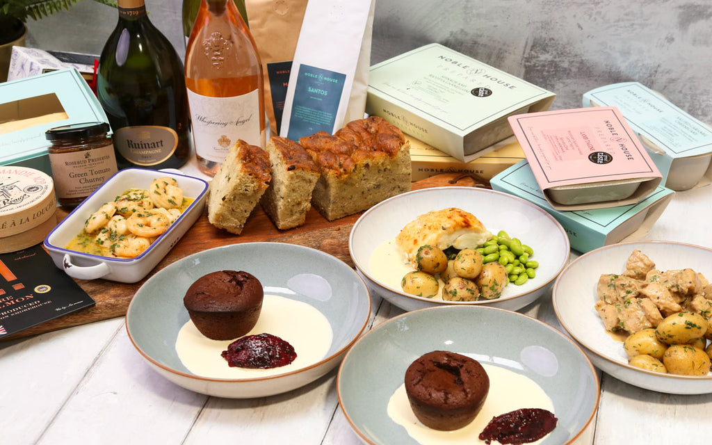 Fabulous frozen meals, roasts, coffee, wine and gift packages