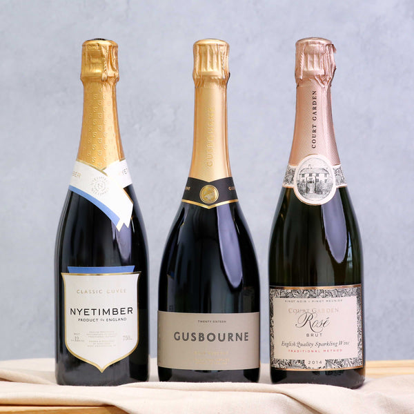 British Wines: Sparkling Trio