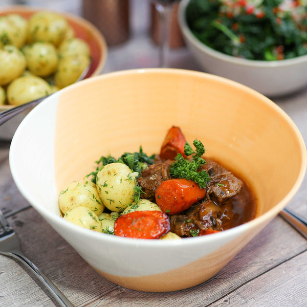 Slow Braised Beef Bourguignon