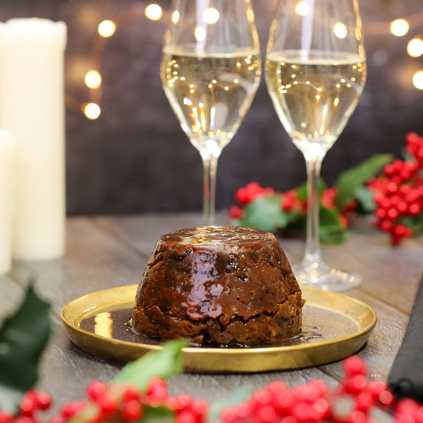LillyPuds Vegan and Gluten Free Christmas Pudding
